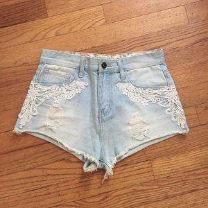 Lacey Denim Shorts